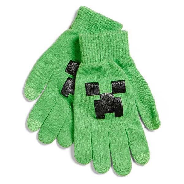 Minecraft Creeper Conductive Gloves