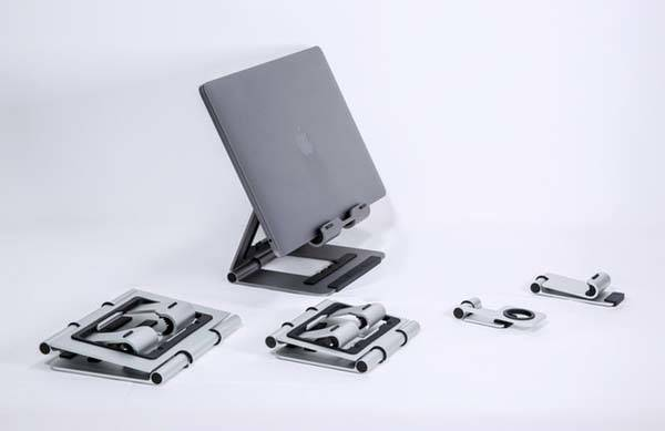 Ridge Stand 2.0 Aluminum Holder Series for MacBook, Phone, Tablet and Apple Watch