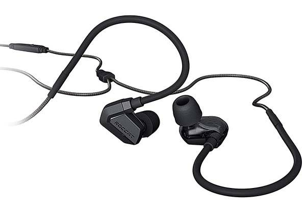 Roccat Score In-Ear Gaming Headset with Dual Driver Design