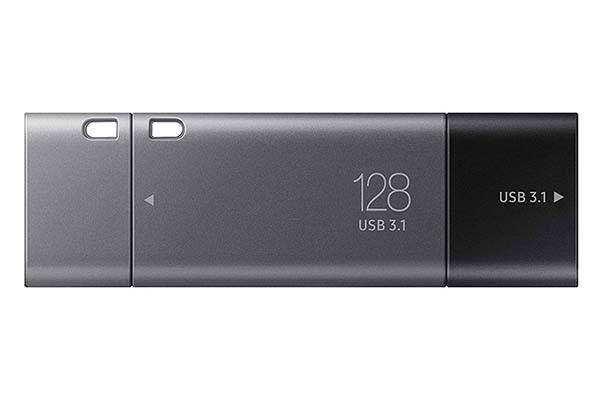 Samsung Duo Plus USB-C Flash Drive with USB Adapter
