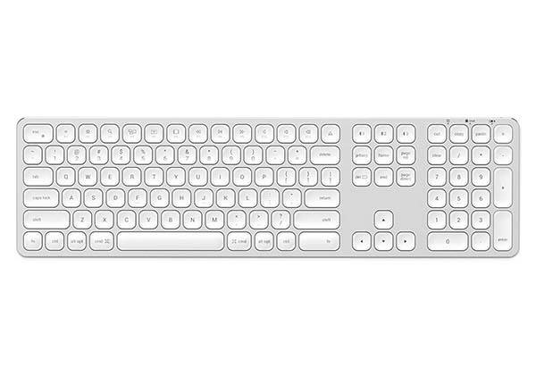 Satechi Aluminum Bluetooth Keyboard with Numeric Keypad