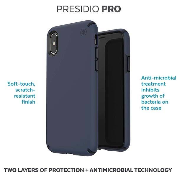 Speck Presidio Pro iPhone Case for iPhone XS, XS Max and XR