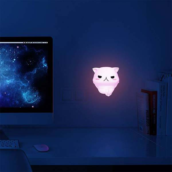 Squishy Cat LED Night Light
