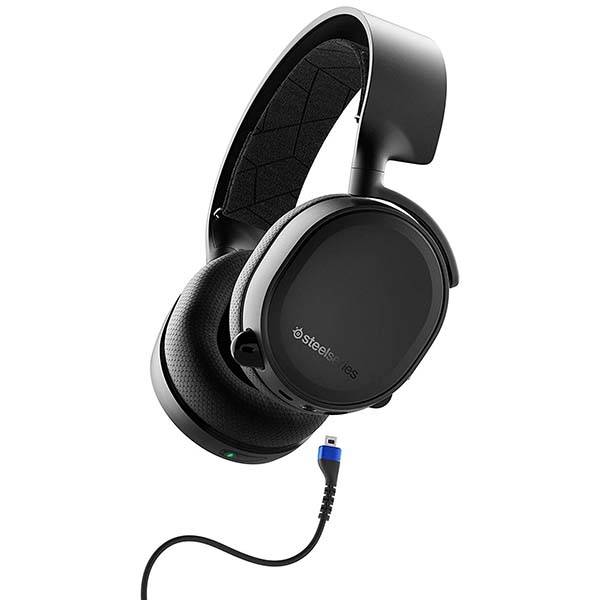 SteelSeries Arctis 3 Bluetooth Wired and Wireless Gaming Headset