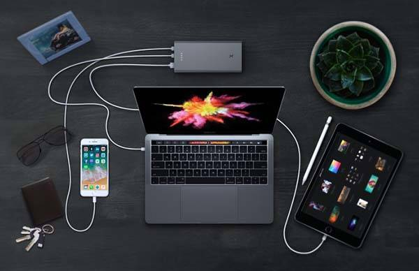 Swift One USB-C Portable Bank with Quick Charge 3.0