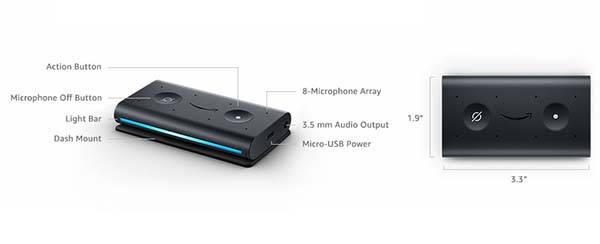 Amazon Echo Auto Alexa Adapter for Car
