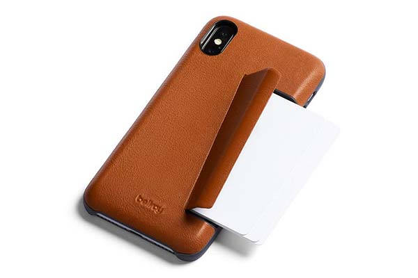 Bellroy Leather iPhone XR Case with a Hidden Card Slot