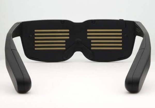 Chemion Customizable Bluetooth LED Glasses