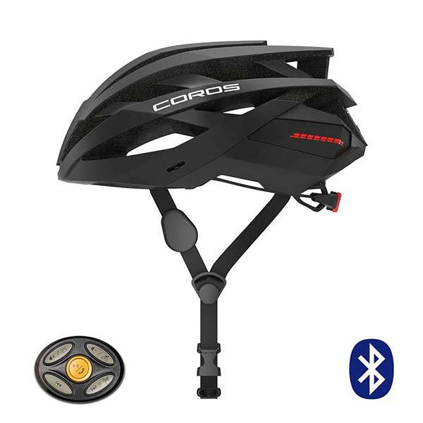 Coros Omni Smart Cycling Helmet with LED Tail Lights, Bone Conduction Audio and More