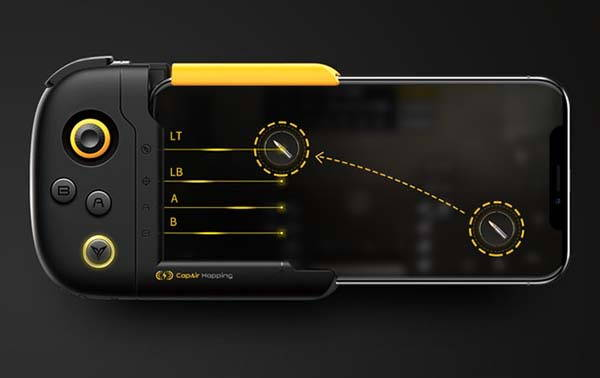 Flydigi Wasp One-Hand iPhone Gamepad Compatible with Fortnite and PUBG