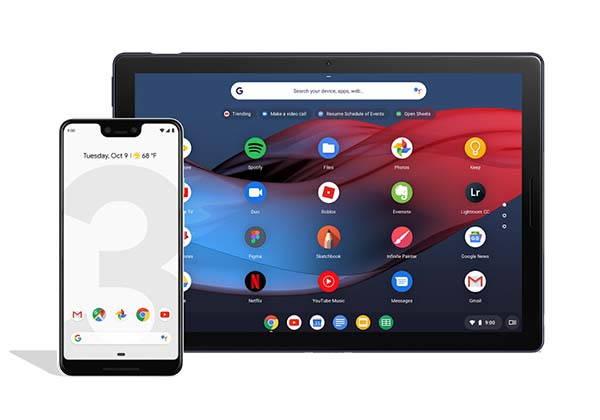Google Pixel Slate Chrome OS Tablet