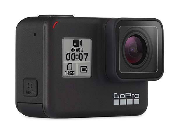 GoPro HERO7 Black Waterproof 4K Action Camera