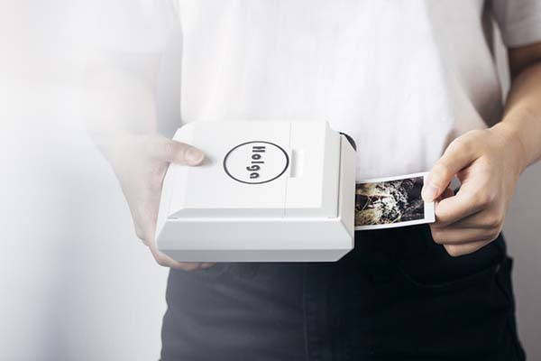 Holga Portable Photo Printer with No Battery and Bluetooth Needed