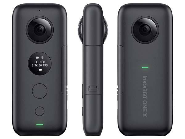 Insta360 ONE X 360 Action Camera with FlowState Stabilization