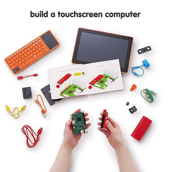 Kano Computer Kit Touch with Raspberry Pi 3, Touchscreen and More