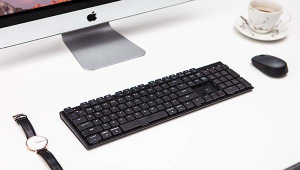 Keytron Ultra-Slim Bluetooth Mechanical Keyboard