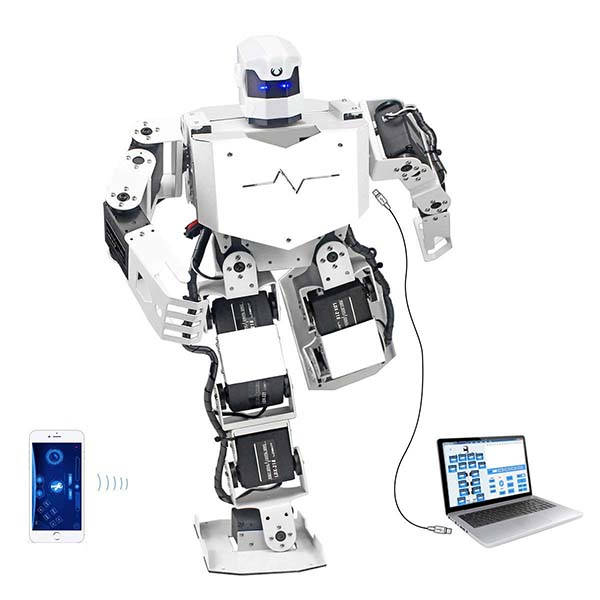 LewanSoul H3S 16DOF Biped Programmable Humanoid Robot