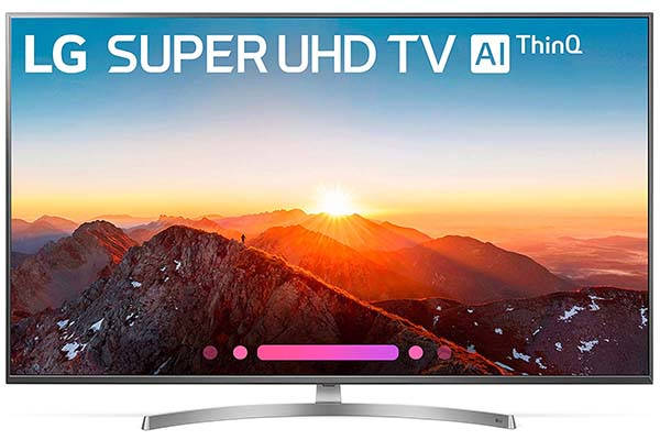 LG Super UHD Smart TV with Google Assistant Supports Amazon Alexa