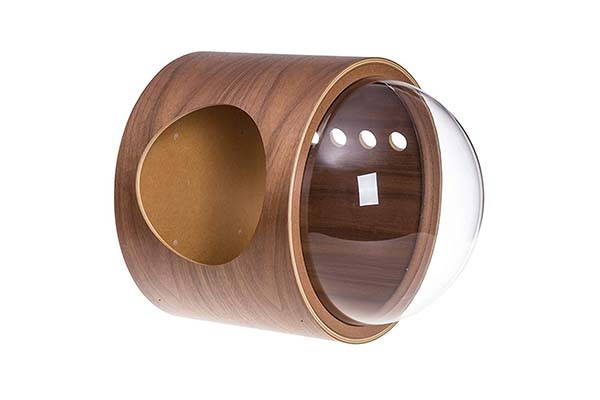 MYZOO Spaceship Gamma Wall-Mounted Cat House