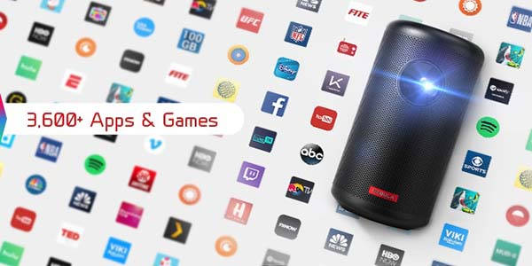 Nebula Capsule II Portable Smart Projector with Android TV