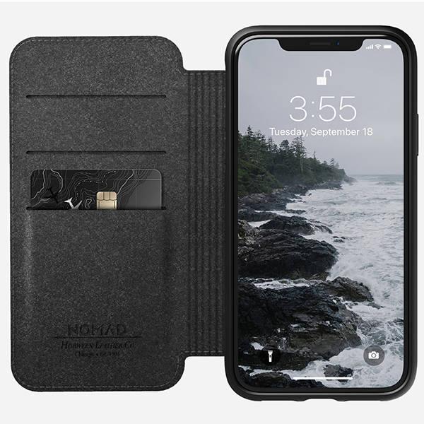 Nomad Rugged Folio iPhone XR Leather Case