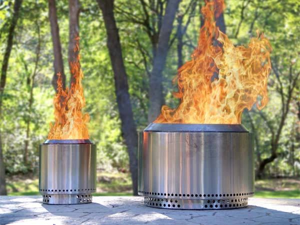 Solo Stove Yukon And Ranger Stainless Steel Fire Pits