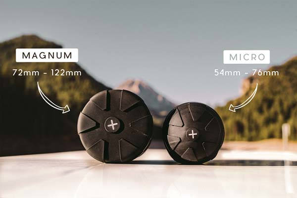The Universal Lens Cap 2.0 with Two Sizes for All Camera Lenses