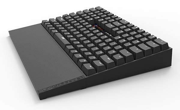 TYPI LED Backlit Mechanical Keyboard Focuses on Comfort and Efficiency