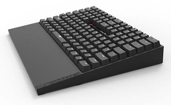 TYPI LED Backlit Mechanical Keyboard Focuses on Comfort and Efficiency