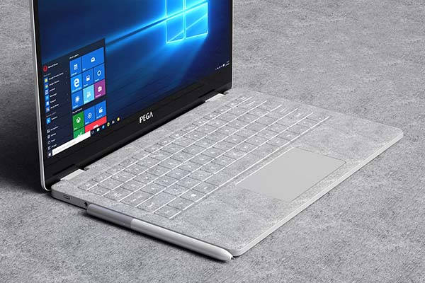 Uncia Waterproof Convertible Laptop with Magnetic-Lock Stylus