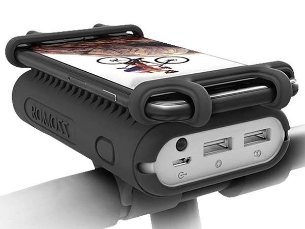 Urbango Portable Power Bank with Bike Phone Mount