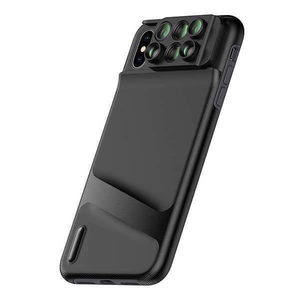Ztylus Switch 6 iPhone XS Max Case with 6 Phone Lenses