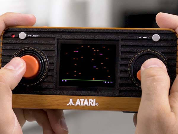 Atari Retro Handheld Gaming Device with 50 Classic Games