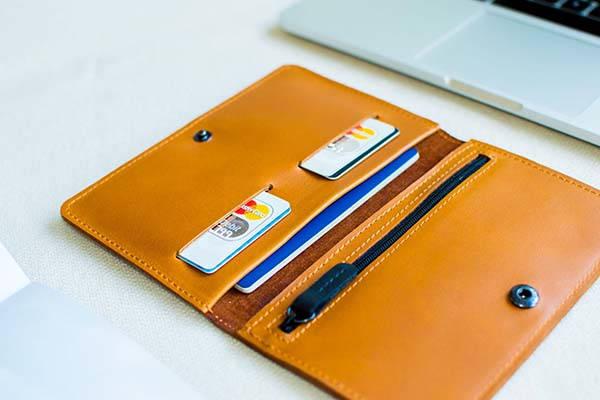CLIMB Handmade Leather Travel Wallet