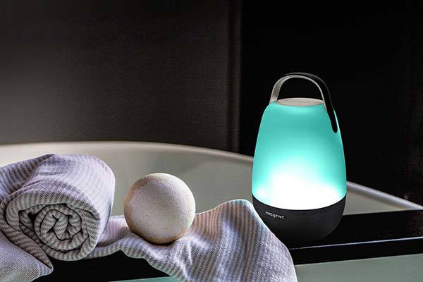 Creative Nova Alexa Portable Smart Speaker with LED Lantern