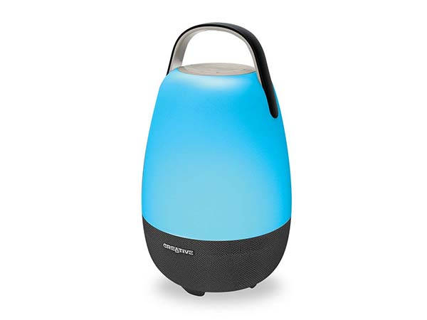 Creative Nova Alexa Portable Smart Speaker with LED Lantern