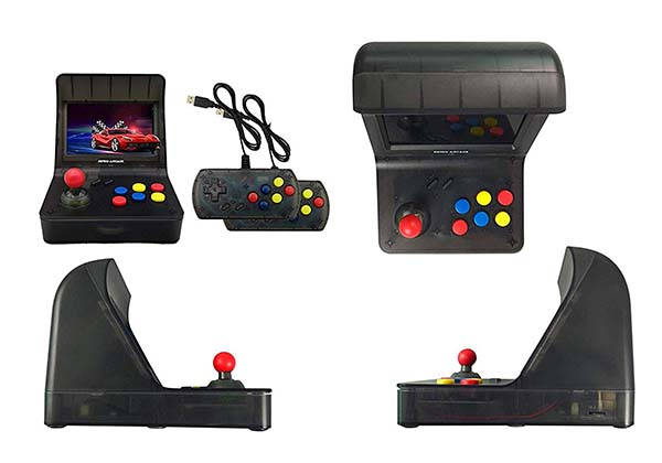 DroiX RetroGame RS-7 Pro Mini Arcade Machine with Two Controllers