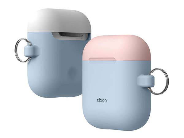 Elago Duo Hang Airpods Case With Bright Two Tone Design Gadgetsin