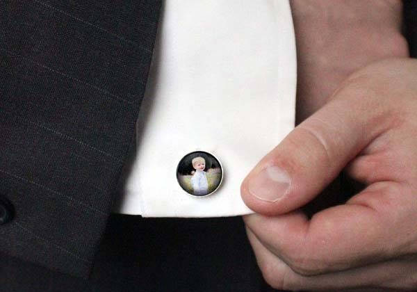 Handmade Customizable Photo Cufflinks