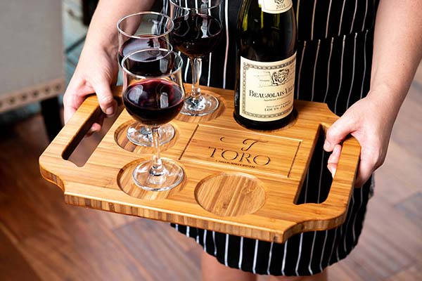 Handmade Personalized Charcuterie Boards and Wine Serving Trays