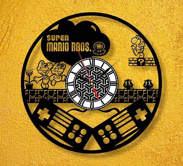 Handmade Pop Culture Vinyl Record Wall Clocks