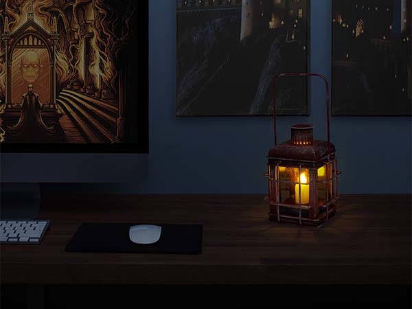 Harry Potter Hagrid's Lantern with LED Candle