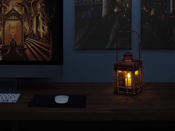Harry Potter Hagrid's Lantern with LED Candle