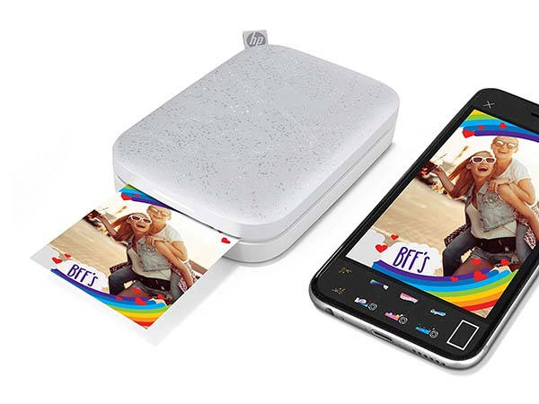 HP Sprocket Pocket Photo Printer 2nd Edition with Augmented Reality