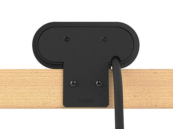 Legrand Mounted Desktop Power Strip With Two AC Outlets