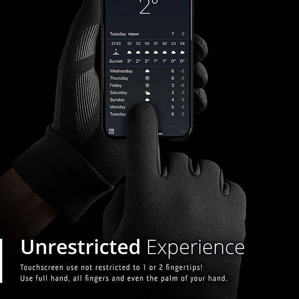 Mujjo Touchscreen Gloves with 3M Thinsulate