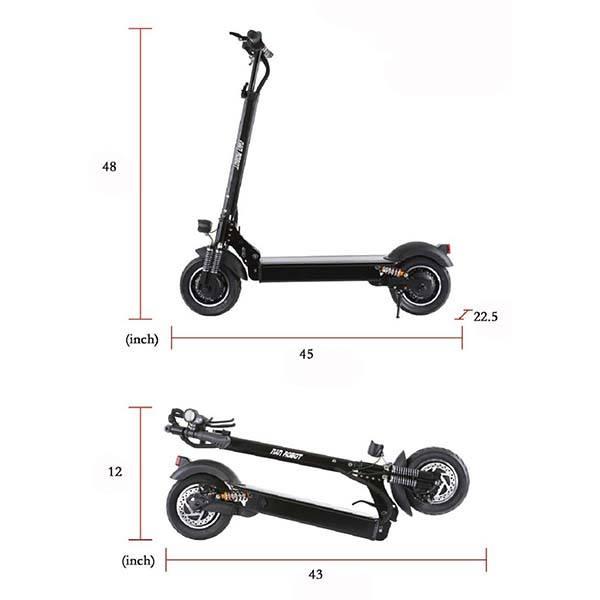 Nanrobot D4+ Folding High Speed Electric Scooter