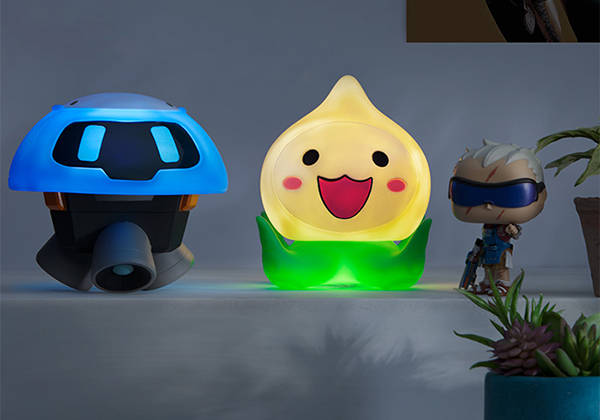 Overwatch Snowball LED Mood Lamp