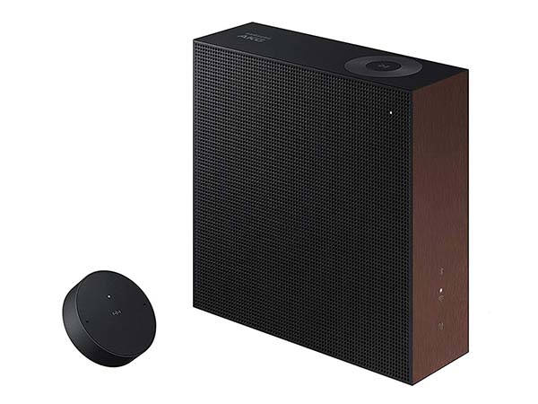 Samsung VL350 Wireless Home Speaker with a Moving Control Dial