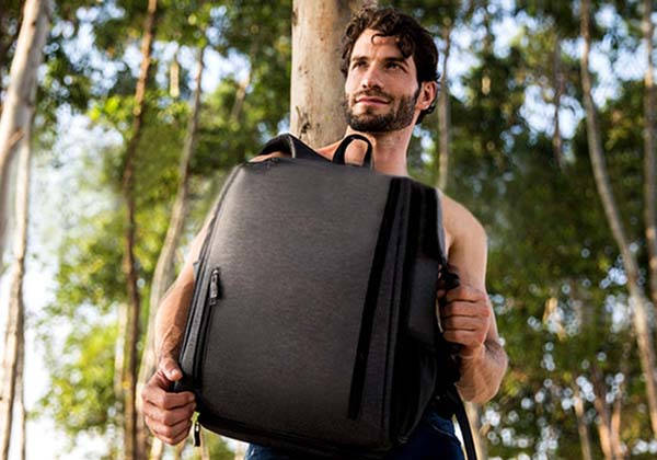 SpaceCube Backpack with 18 Partitioned Spaces